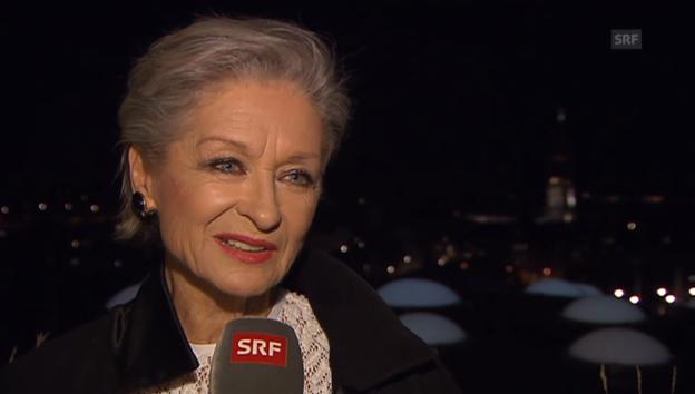 Video «Heidi Maria Glössner über ihren 70. Geburtstag» abspielen