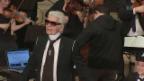 Video «Karl Lagerfeld: Doppelte Premiere» abspielen