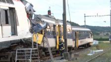Video «Bewegte Bilder vom Unfallort (Ohne Kommentar)» abspielen