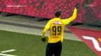 Video «Sion kann gegen YB trotz guten Chancen nichts ausrichten» abspielen