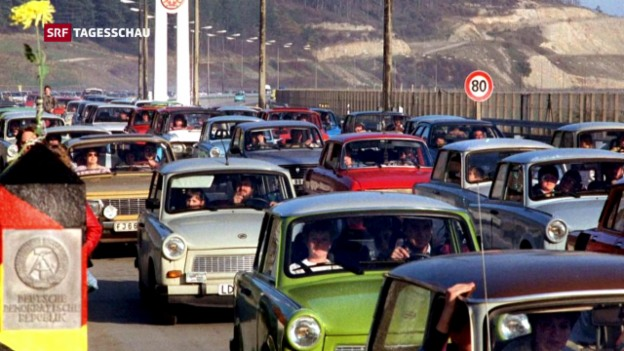 Video «Heute vor genau 60 Jahren lief der erste Trabant vom Fliessband» abspielen