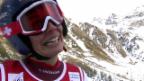 Video «Ski: Riesenslalom Frauen Val d'Isère, 2. Lauf von Dominique Gisin» abspielen