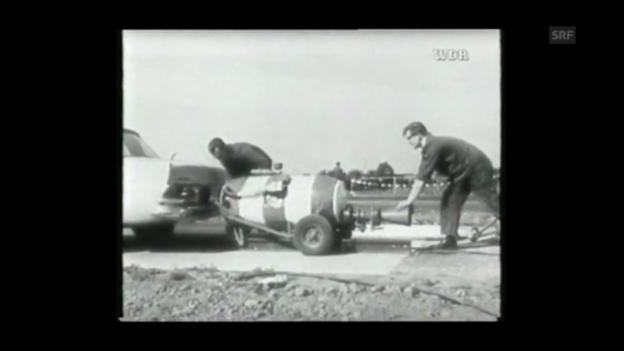 Video «Geschichte der Crashtests (Westdeutscher Rundfunk/Youtube)» abspielen