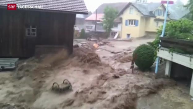 Video «Konsequenzen des Klimawandels für die Schweiz» abspielen