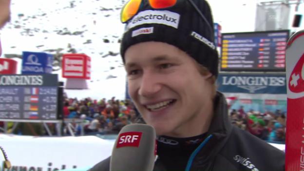 Video «Odermatt über sein bestes Weltcup-Ergebnis» abspielen