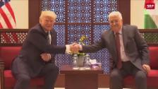 Link öffnet eine Lightbox. Video Trump trifft Abbas abspielen