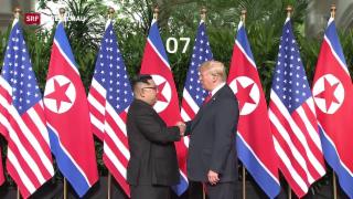Video «Trump und Kim – Impressionen» abspielen