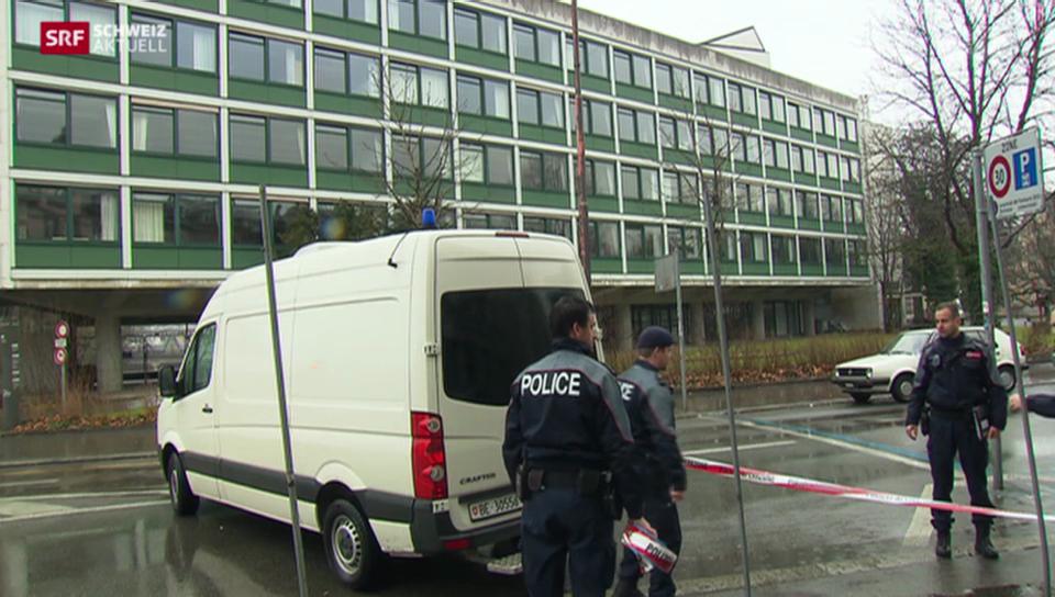 Gewerbeschule Bern nach massiver Drohung geschlossen