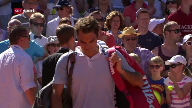 Tennis: Federer - Delbonis («sportaktuell»)