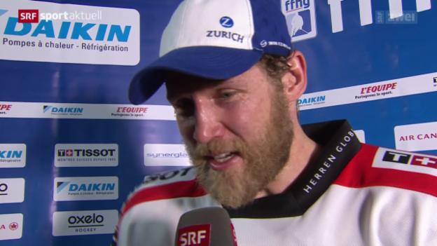 Video «Eishockey: Testspiel, Frankreich - Schweiz» abspielen