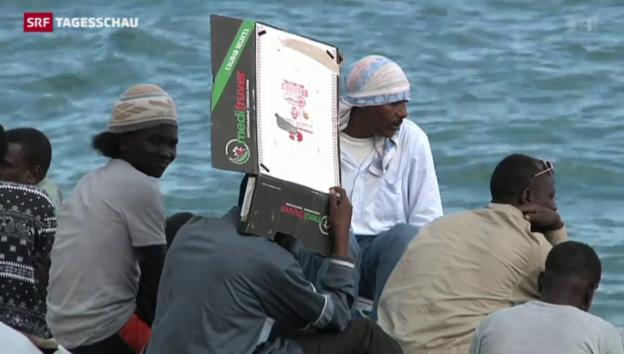 Video «EU verhandelt neue Asylpolitik» abspielen