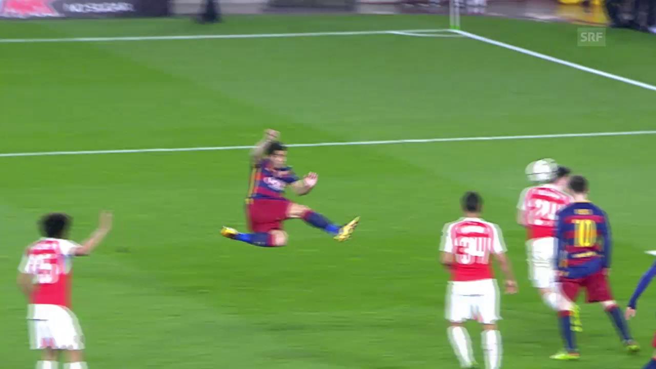 Suarez' Traumtor gegen Arsenal