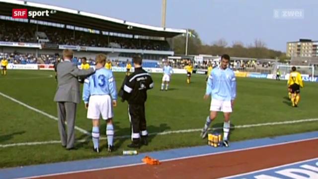 Fussball: Ibrahimovic, Auswechslung