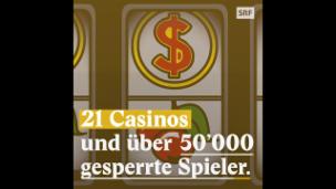 Video «Es gibt immer mehr gesperrte Casino-Besucher» abspielen