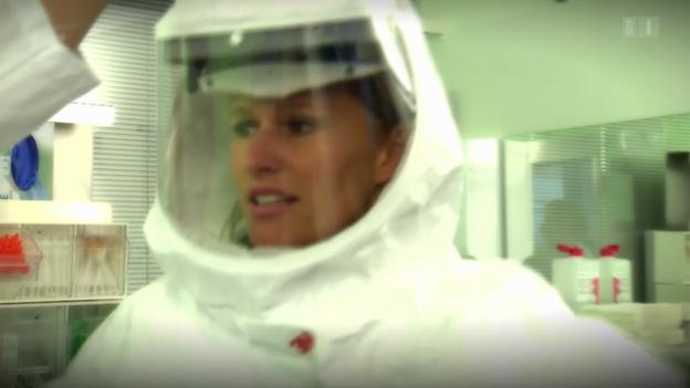 Video «Ebola: Berner Inselspital für den Ernstfall gerüstet» abspielen