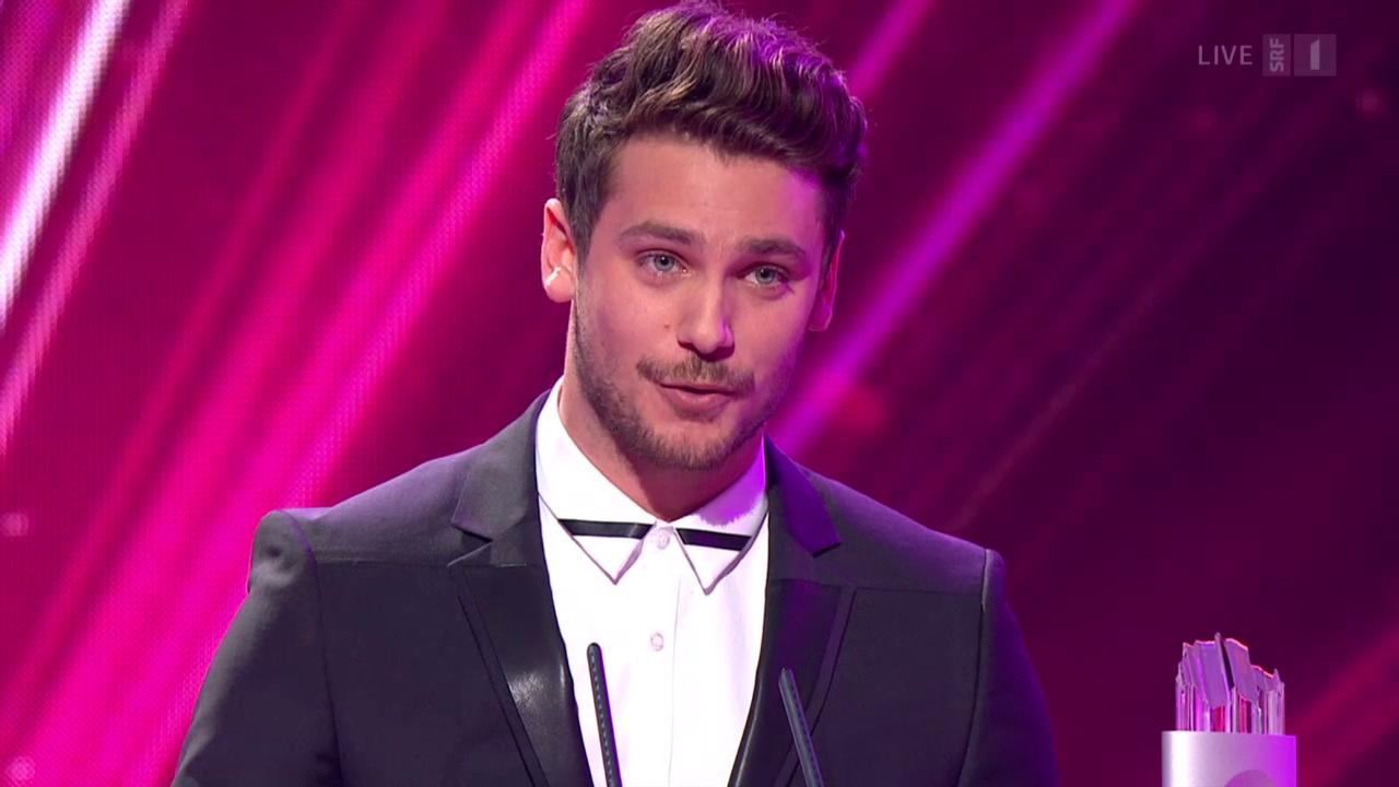 Bastian Baker - Gewinner in der Kategorie Show