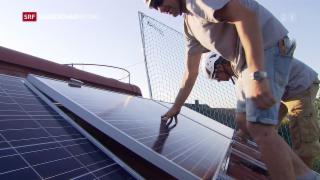 Video «Neue Regeln zur Förderung erneuerbarer Energien» abspielen