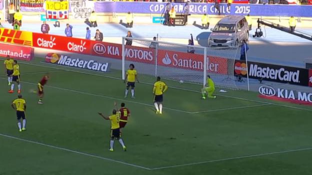Video «Fussball: Copa America, Kolumbien - Venezuela» abspielen