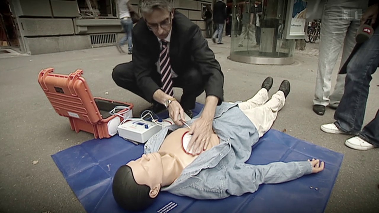 Defibrillator – Ohne Schulung keine Rettung