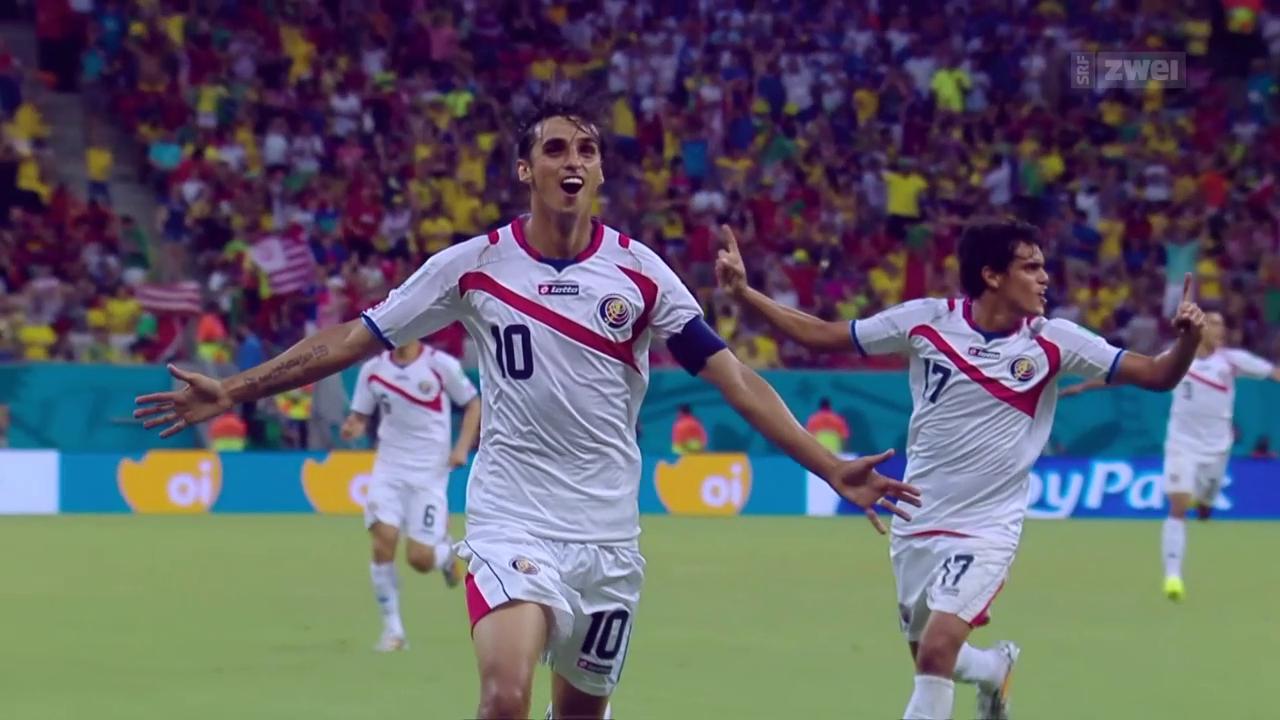 Bryan Ruiz: Star und Captain von Costa Rica