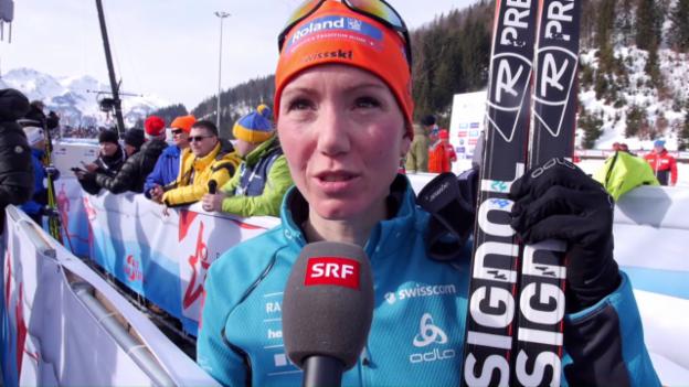 Video «Selina Gasparin: «Muss die hinterletzte Energie rausquetschen»» abspielen