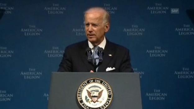 Video «Biden über Syrien-Krieg» abspielen