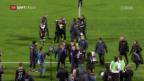 Video «Lugano knöpft FCB einen Punkt ab» abspielen