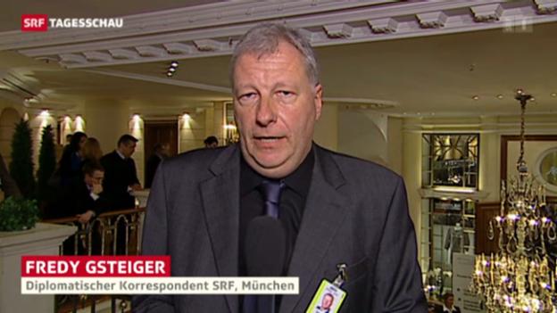 Video «SRF-Korrespondent Fredy Gsteiger über die Themen der Sicherheitskonferenz» abspielen