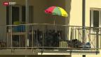 Video «Trotz Widerstand: Asylbewerber ziehen in Aarburg ein» abspielen