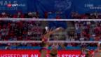 Video «Beide Schweizer Duos bleiben im Viertelfinal hängen» abspielen