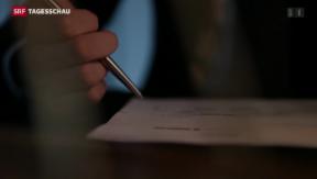 Video «Namen von CS-Mitarbeitern in den USA offengelegt» abspielen