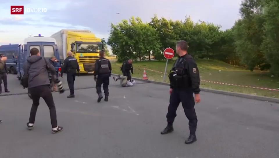 Situation in Calais spitzt sich zu