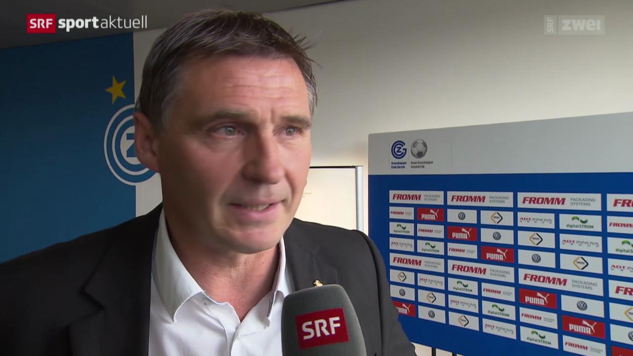 Fussball: Der neue GC-Sportchef Axel Thoma