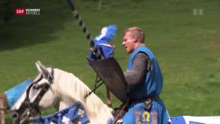 Video «Ritter auf der Burg und Schuhwechsel bei den Pilgern» abspielen