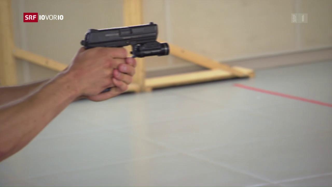 Pistolen für Hilfspolizisten