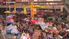 Video «Barrikaden der Demokratiebewegung in Hongkong geräumt» abspielen