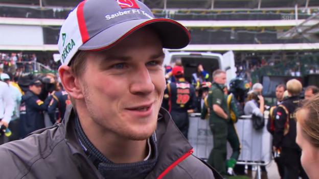 Video «Formel 1: Interview mit Nico Hülkenberg» abspielen