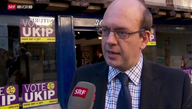 Video «Grossbritannien: Ukip-Nationalisten im Hoch» abspielen