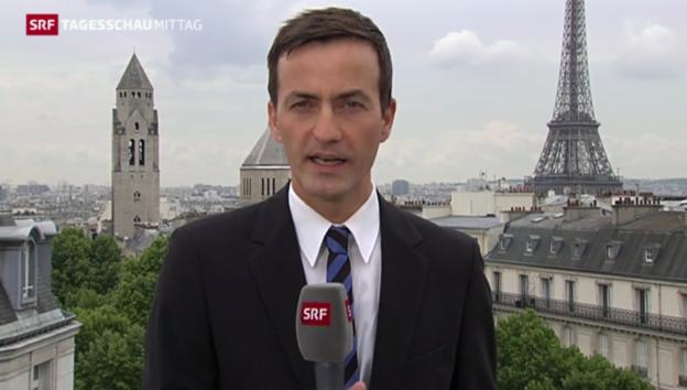 Video «SRF-Korrespondent Gerber: «Frankreich hält den Atem an»» abspielen
