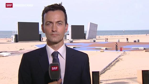 Video «SRF-Korrespondent Michael Gerber über die D-Day-Gedenkfeier» abspielen