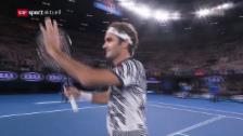 Video «Federer deklassiert Berdych» abspielen