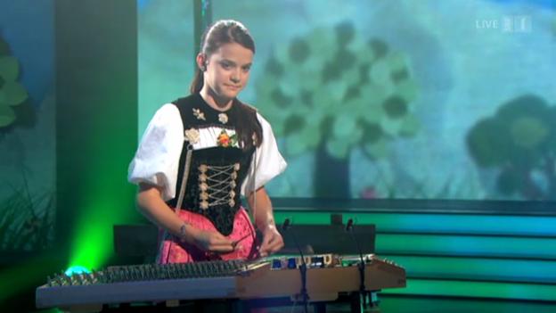 Video «Fabienne Schadegg mit «S'Träumli»» abspielen