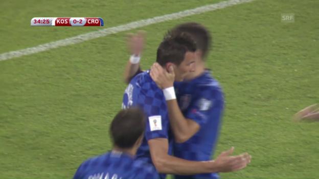 Video «Kroatien überrollt den Kosovo» abspielen