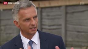 Video «Schweiz will mit der EU weiter über Migration verhandeln» abspielen