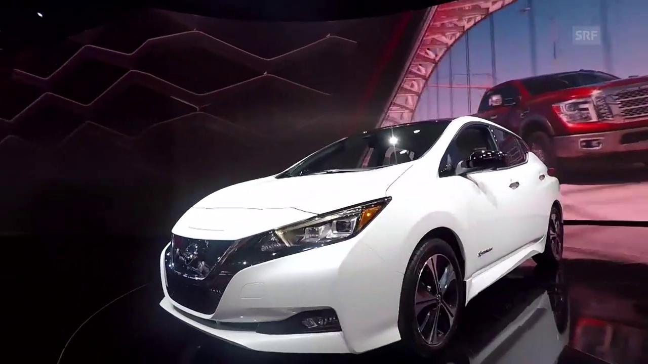 Etablierte Autohersteller spüren den Druck aus China (Impressionen Automesse Detroit)