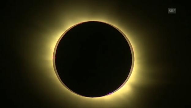 Video «Die totale Sonnenfinsternis über Spitzbergen» abspielen