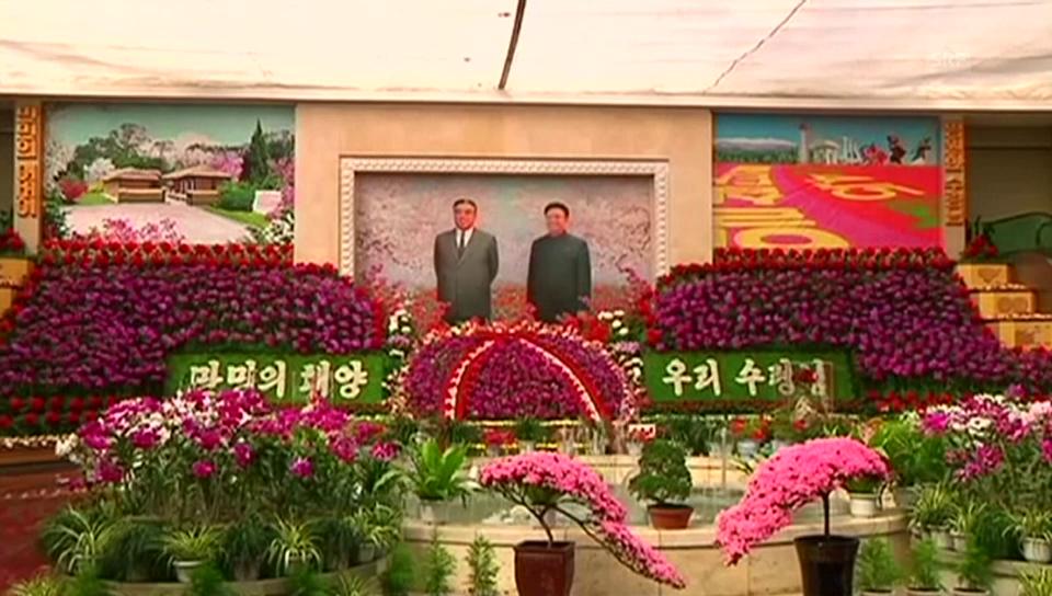 Feierlichkeiten zum 103. Geburtstag von Kim Jong-sung