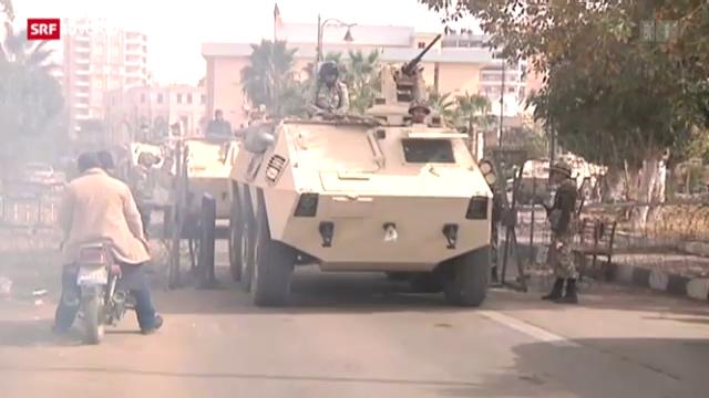 Ausnahmezustand in Ägypten
