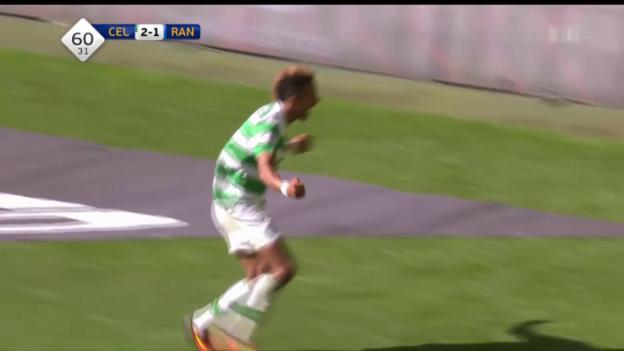 Video «Celtic gewinnt Glasgow-Derby gegen Rangers klar» abspielen