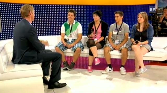 Das ganze Interview der KV-Klasse aus Chur